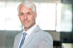 Senior confident business man Royalty Free Stock Photo