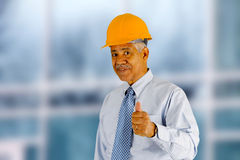 Senior Construction Foreman Stock Photography