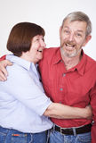 Senior couple 1 royalty free stock photography