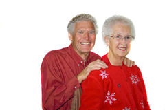 Senior couple. royalty free stock photo