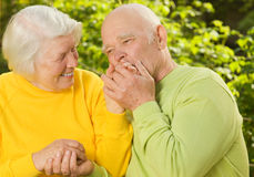 Senior couple Stock Image