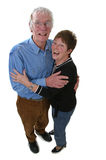 Senior couple. Looking happy together Stock Image