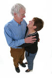 Senior couple. Looking happy together Royalty Free Stock Photos
