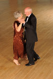 Senior couple ballroom dancing Royalty Free Stock Images