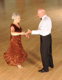 Senior couple dancing stock photo