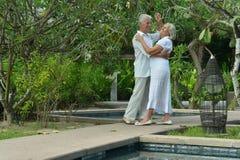 Senior couple dancing Royalty Free Stock Photo