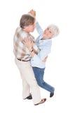 Senior couple dancing Stock Photography