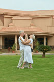 Senior couple dancing Royalty Free Stock Photos