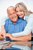 Senior Couple Embracing Royalty Free Stock Images