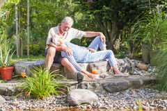 Senior couple enjoying retirement Royalty Free Stock Images