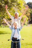 Senior couple fun Royalty Free Stock Images