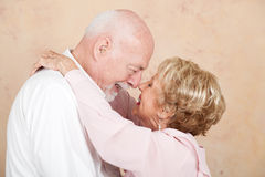 Senior Couple in Happy Marriage Royalty Free Stock Images