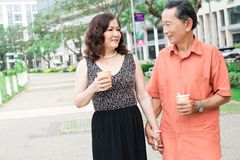 Senior love royalty free stock photos