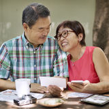 Senior Couple Leisure Outside Concept Royalty Free Stock Image