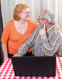 Senior couple lifestyle Stock Photography