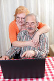 Senior couple lifestyle Royalty Free Stock Photo