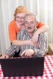 Senior couple lifestyle Royalty Free Stock Photo