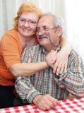 Senior couple lifestyle Stock Photography