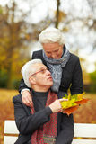 Senior couple in love Stock Photography