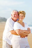 Senior couple love Stock Photography