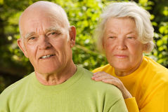 Senior couple in love Stock Photo