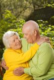 Senior couple in love Stock Images