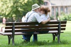 Senior couple in love Royalty Free Stock Photo