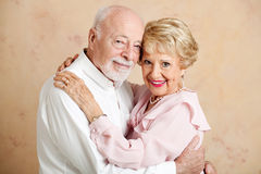 Senior Couple - Loving Portrait Stock Image
