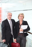 Senior Couple Of Teachers Stock Photos