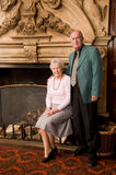Senior couple portrait Royalty Free Stock Photo