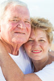 Senior couple portrait Stock Photo