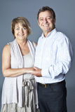 Senior couple portrait Royalty Free Stock Image