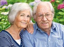 Senior couple  portrait Royalty Free Stock Photos