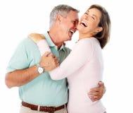 Senior couple portrait. Stock Images