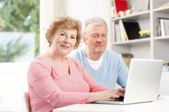 Senior couple portrait Royalty Free Stock Photography