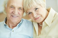 Senior couple Stock Images