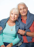 Senior couple portrait 36 Stock Photos