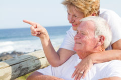 Senior couple prospective Royalty Free Stock Photos