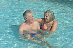 Senior couple relaxing Stock Photo