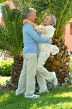 Senior couple resting Royalty Free Stock Images