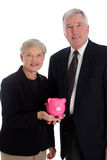 Senior Couple Retirement royalty free stock images