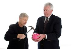 Senior Couple Retirement Royalty Free Stock Photography