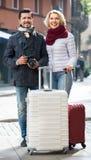 Senior couple  sightseeing Royalty Free Stock Photo