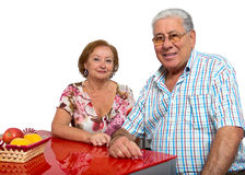 Senior couple Stock Photos