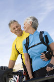 Senior Couple Smiling Royalty Free Stock Photo