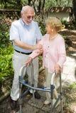 Senior Couple Together Royalty Free Stock Photo
