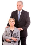 Senior Couple Together Vertical Royalty Free Stock Photo