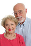 Senior Couple Together Vertical Stock Image