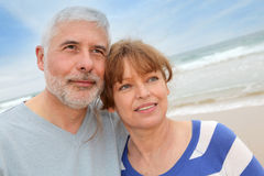 Senior couple vacation Royalty Free Stock Photo