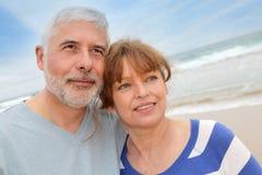 Senior couple vacation royalty free stock photo
